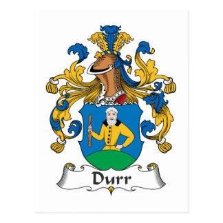 Durr Family Crest Postcards