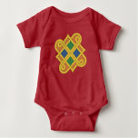 Durrow Knotwork 2016 Baby Bodysuit