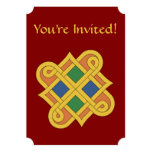 Durrow Knotwork 2016 Invitation