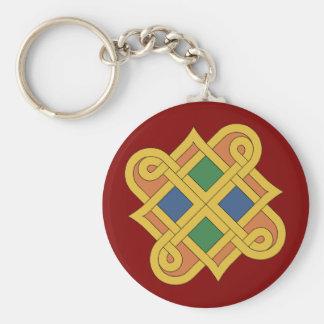 Durrow Knotwork 2016 Keychain