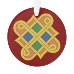 Durrow Knotwork 2016 Ornament
