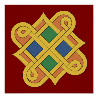 Durrow Knotwork 2016 Poster