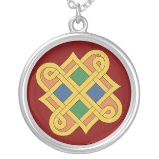 Durrow Knotwork 2016 Round Pendant Necklace