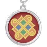 Durrow Knotwork 2016 Silver Plated Necklace