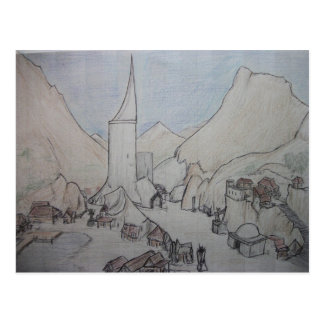 Durrows - The Pillar Postcard