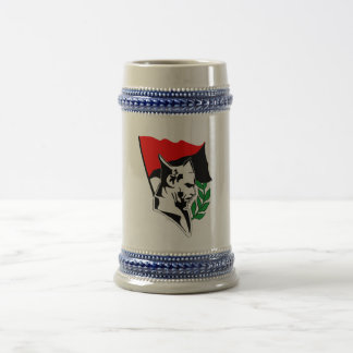 Durruti - Anarchy flag Beer Stein