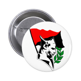 Durruti - Anarchy Flag Botón