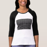 Dusable Bridge Abstract Grayscale T-Shirt