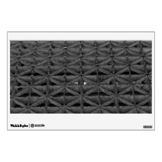 Dusable Bridge Abstract Grayscale Wall Sticker