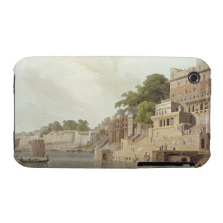 Dusasumade Gaut, at Benares on the River Ganges, f iPhone 3 Case