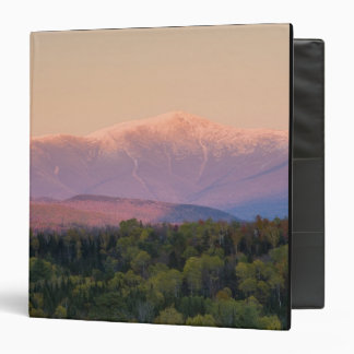 Dusk and Mount Washington in new Hampshire's 3 Ring Binders