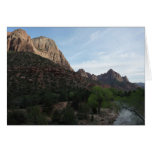 Dusk at Canyon Junction in Zion National Park Card