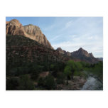 Dusk at Canyon Junction in Zion National Park Postcard