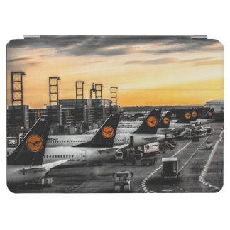 Dusk at Frankfurt airport iPad Air Cover