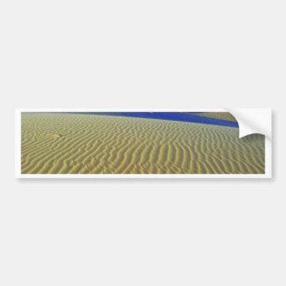 Dusk at Monahans Sands Car Bumper Sticker