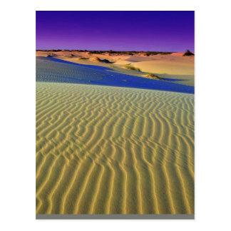 Dusk at Monahans Sands Postcard