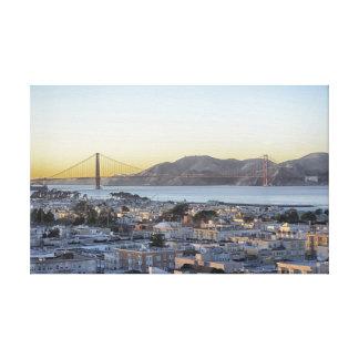 Dusk at the Golden Gate Bridge Canvas Print