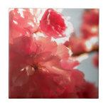 Dusk Blossoms Ceramic Tiles