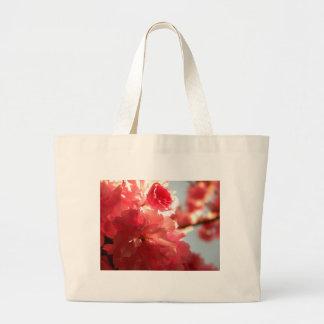 Dusk Blossoms Large Tote Bag