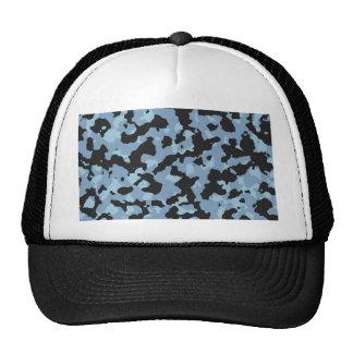 Dusk Blue - Aquamarine Camouflage Print PANTONE Trucker Hat