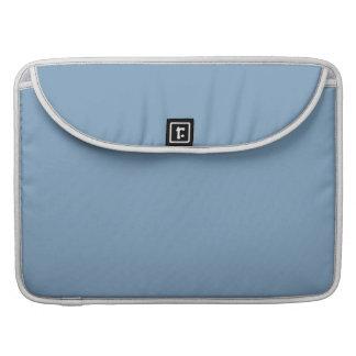 Dusk Blue High End Solid Color Sleeve For MacBooks