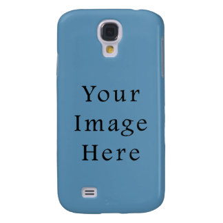 Dusk Cornflower Blue Color Trend Blank Template Samsung S4 Case