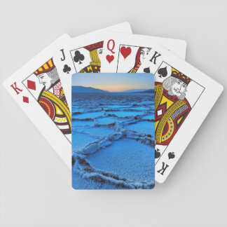 dusk, Death Valley, California Playing Cards