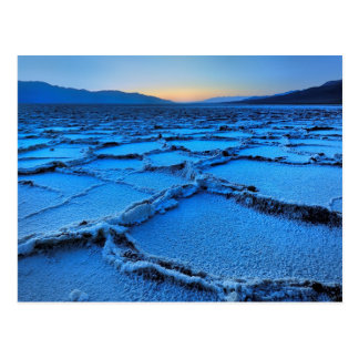 dusk, Death Valley, California Postcard