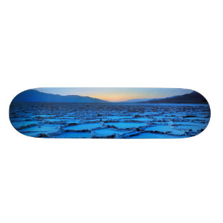 dusk, Death Valley, California Skateboard