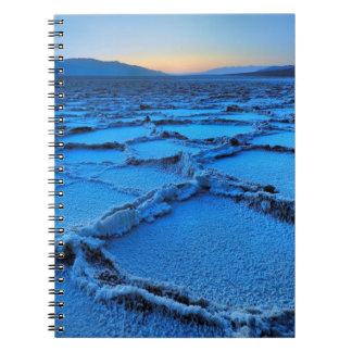 dusk, Death Valley, California Spiral Notebook