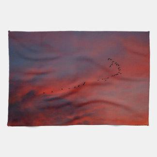 Dusk Dishtowel Towels