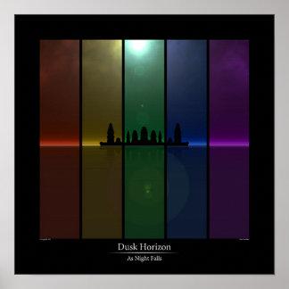 Dusk Horizon - As Night Falls Poster
