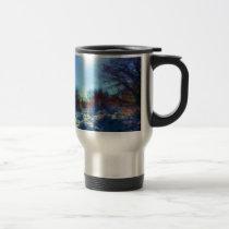 Dusk on a Winter's Night Travel Mug