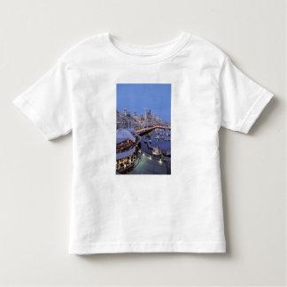 Dusk on Bell Harbor in Seattle, Washington. Toddler T-shirt