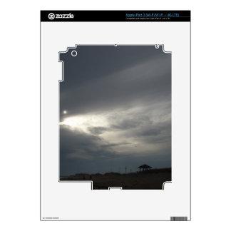 Dusk on the Beach iPad 3 Skins