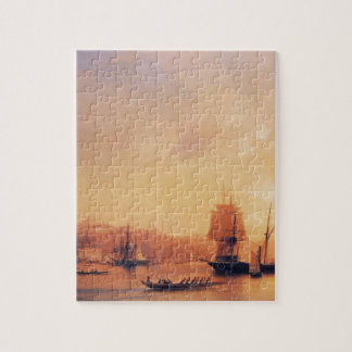 Dusk on the Golden Horn by Ivan Aivazovsky Jigsaw Puzzle