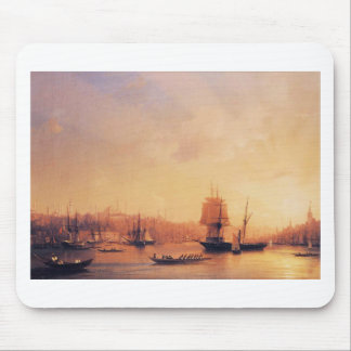 Dusk on the Golden Horn by Ivan Aivazovsky Mouse Pad