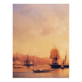 Dusk on the Golden Horn by Ivan Aivazovsky Postcard