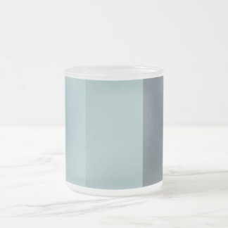 Dusk Palette Frosted Glass Coffee Mug