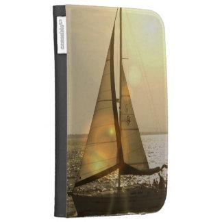 Dusk Sailing Kindle Case
