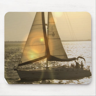 Dusk Sailing Mouse Pad