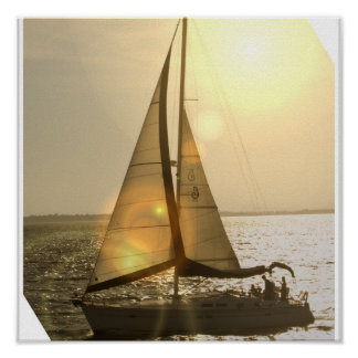 Dusk Sailing Poster