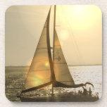 Dusk Sailing Set of Six Coasters