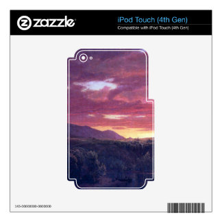 Dusk (sunset) by Frederic Edwin Church iPod Touch 4G Skin