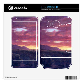 Dusk (sunset) by Frederic Edwin Church Decals For HTC Desire HD