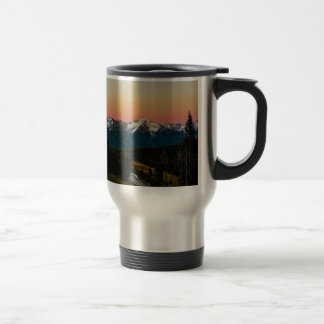 """Dusk to Dawn"" 15 Oz Stainless Steel Travel Mug"