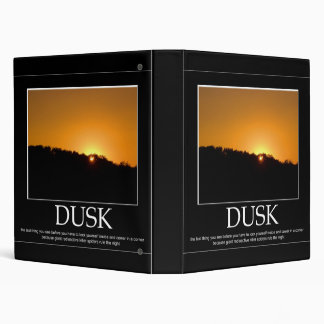 Dusk Vinyl Binder