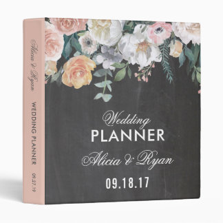 Dusk Watercolor Flower | Planner Binder