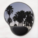Dusk with Palm Trees Gel Mouse Pad