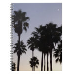 Dusk with Palm Trees Notebook